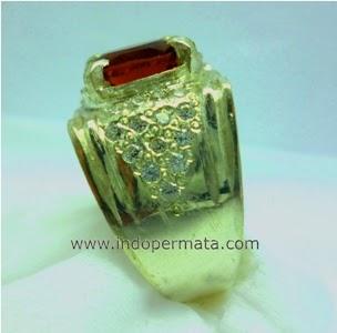 batu permata spessartite garnet-batu mulia-natural-asli-murah
