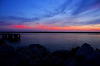 """alt=""""sunset, peer, vilamoura"""""""