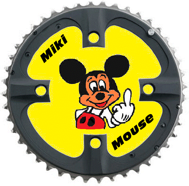 Miki Mouse pisacharcos