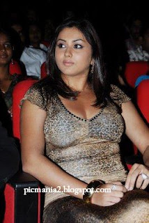 south indian glamour actor  namitha showing cleavage in public party images