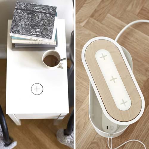 Ikea ti ricarica wireless arredamento facile - Piastre a induzione ikea ...