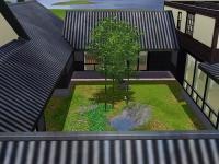 和風お屋敷中庭