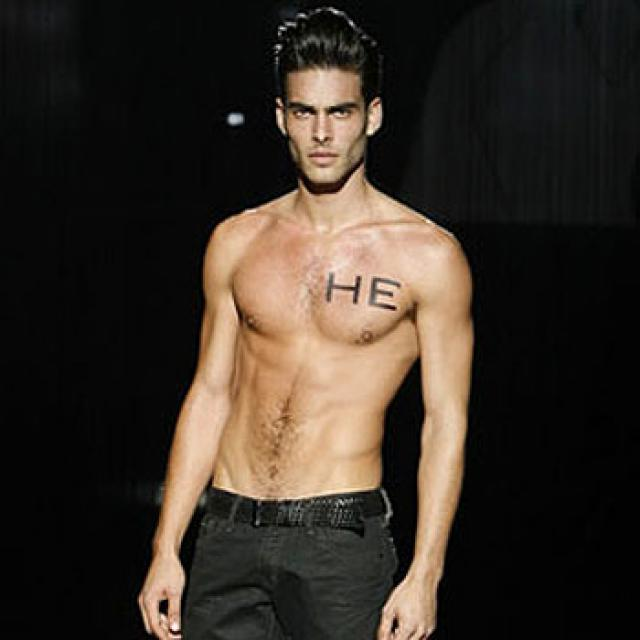 hombre top model mas famoso: