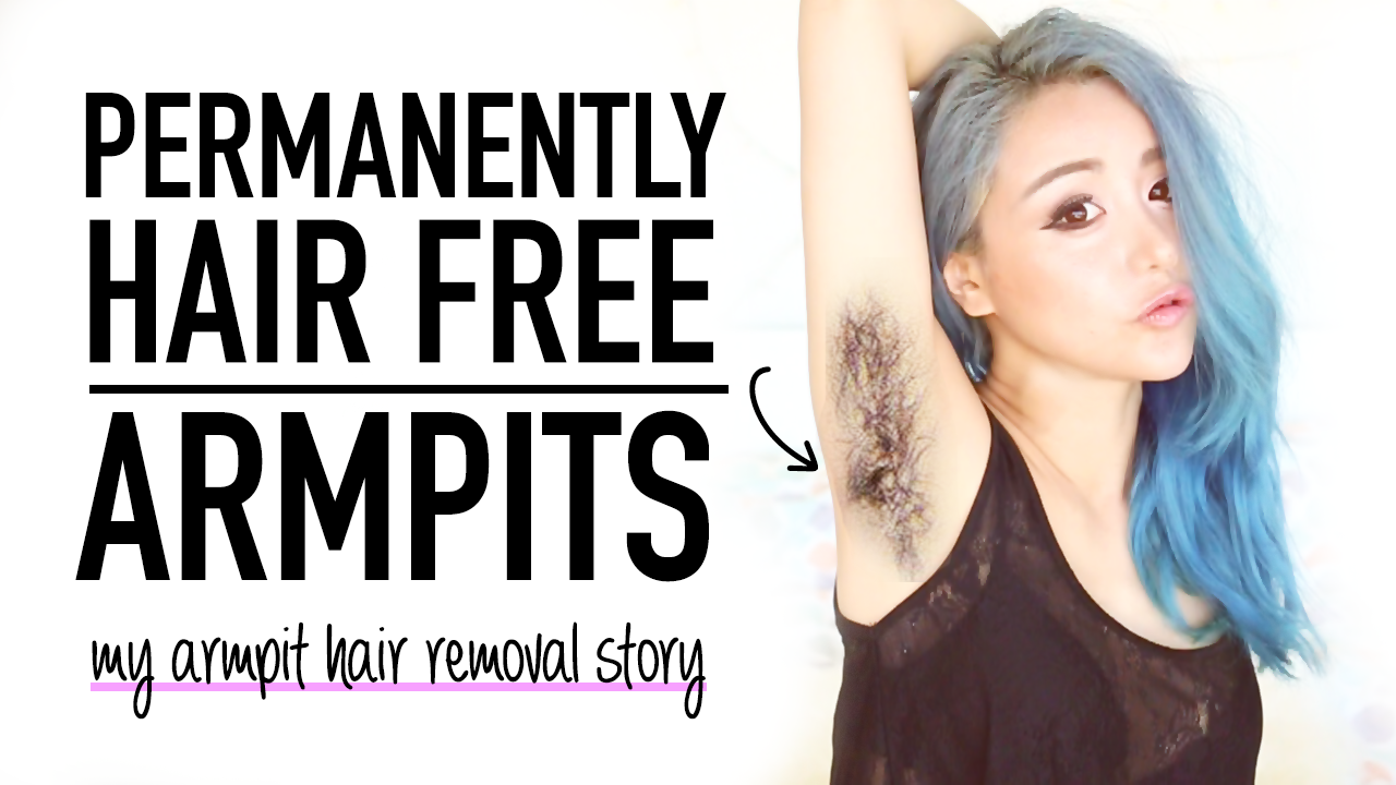 armpit hair permanently no waxing underarm hair removal wengie