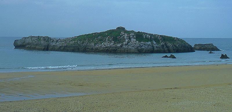 Isla de San Pedruco en Noja