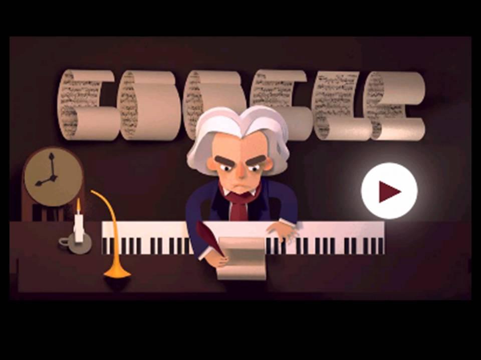 248º aniversario de Ludwig Van Beethoven