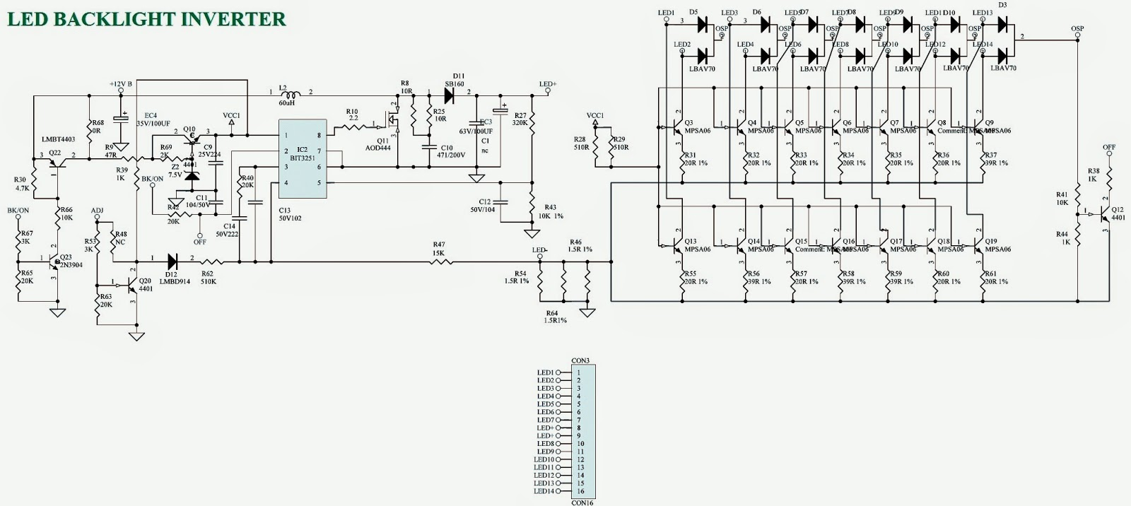 backlight inverter schematic  backlight  free engine image