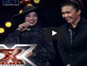 Desy Dewi & Alex Rudiart - MOVES LIKE JAGGER (Maroon 5) - Road To Grand Final - X Factor Indonesia 2015