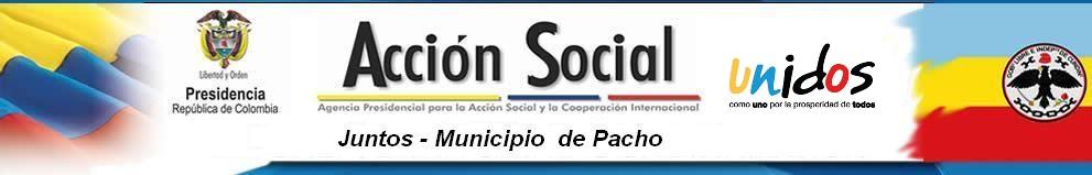 JUNTOS MUNICIPIO DE PACHO