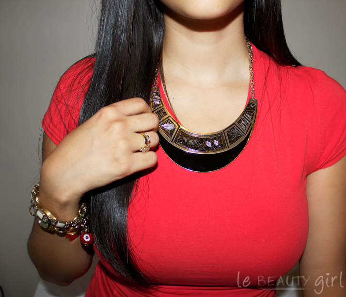 New Primark Aztec Necklace