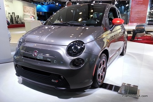 Fiat 500e in Grigio with e-Sport Package