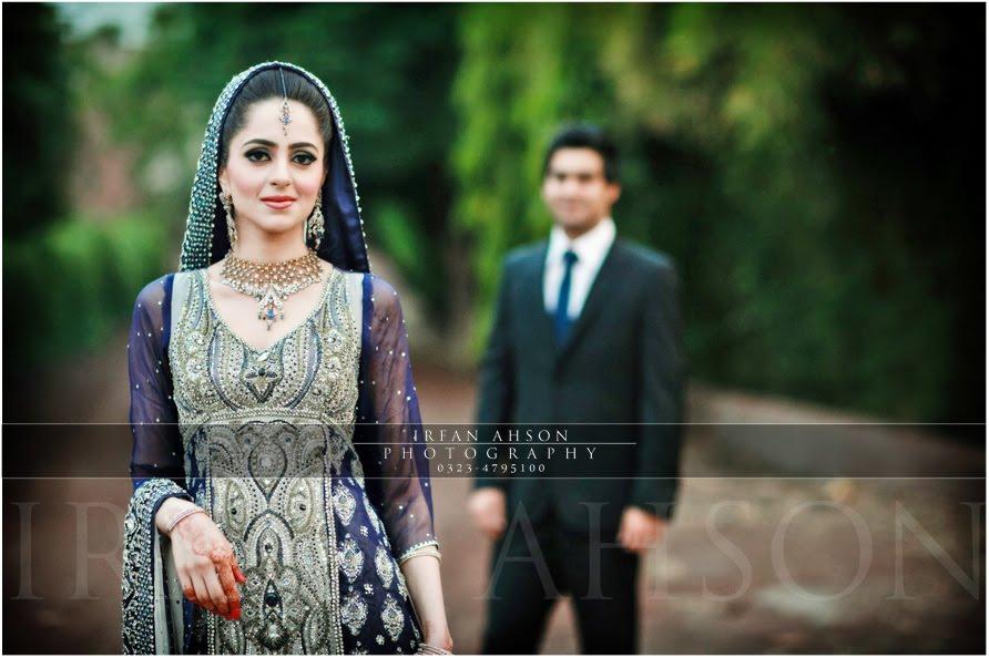 Best Bride n Groom Photoshoot ever by Irfan Ahsan