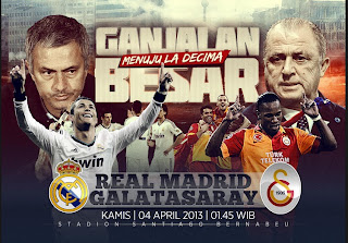 Prediksi Skor Real Madrid vs Galatasaray 4 April 2013 Liga Champions