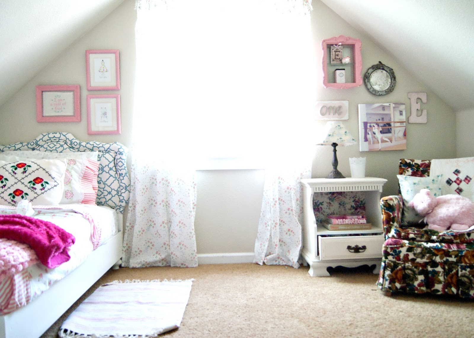 Granny Chic Bedroom - After