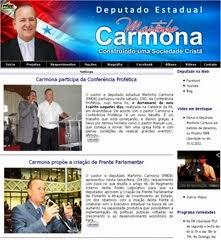 Site Oficial do Dep. Carmona