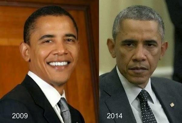 Barack Obama 2005/2014