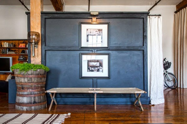 loft estilo industrial madera