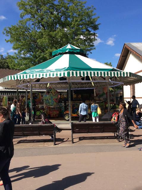 Le jardin d'acclimatation de Neuilly Sur Seine - parc pour enfants
