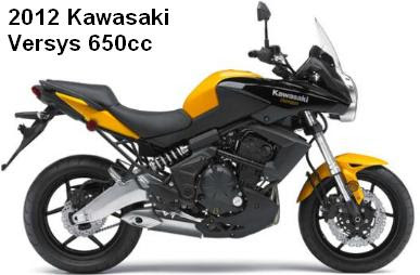 2012 Kawasaki Versys Comfortable Sport Bike Motorcycles And