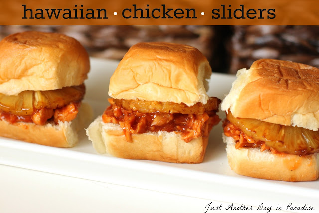 Larissa Another Day: Slow Cooker Saturday: Hawaiian Chicken Sliders