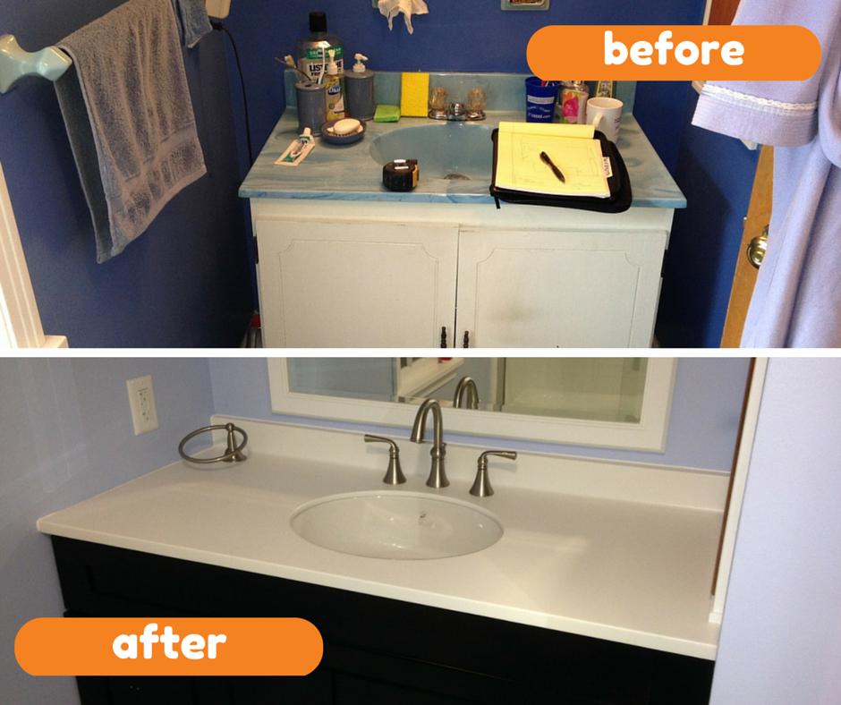 Ap plumbing ap plumbing bathroom remodeling before vs for Bathroom remodel plumbing