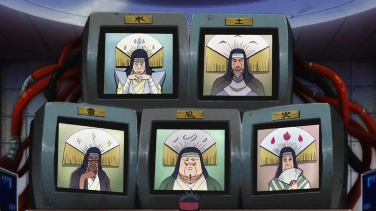 Televisi di dunia naruto