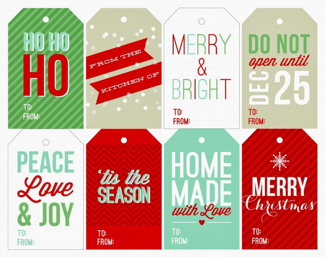 christmas gift tags free printable gift tags