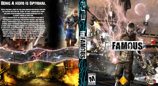 Capa Infamous PS3