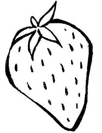 Desenhos Para Imprimir De Frutas