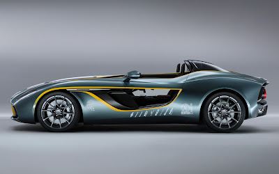 2013 Aston Martin CC100 Speedster concept side view