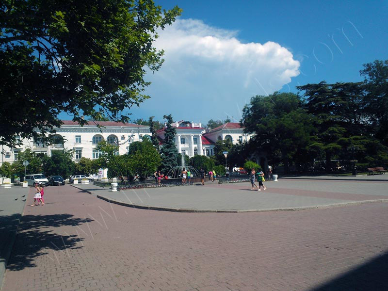 The area near Primorskyi blvd.