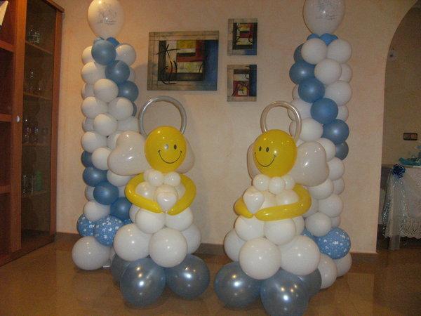 Decorar con globos blog decoraciones auto design tech - Decoraciones baby shower ...