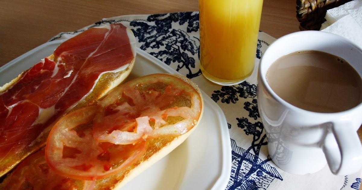 La cocina de maricarmen desayuno espa ol spanish breakfast - Cocinas maricarmen ...