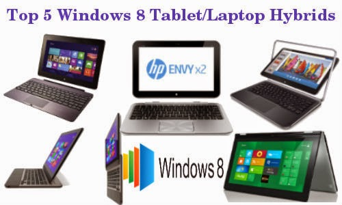 Top Windows 8 Laptop Tablet