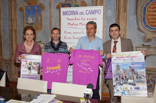 Presentación XXXI Media Maratón Popular Medinense