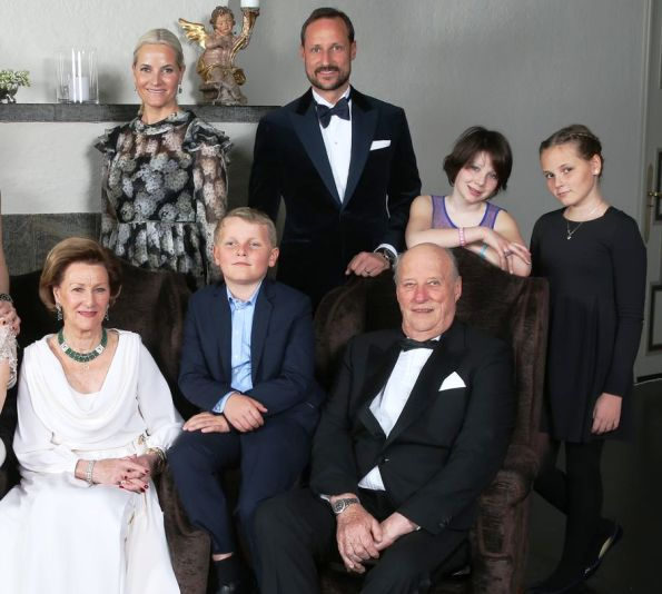 New Photographs Of The Norwegian Royal Family At Skaugum