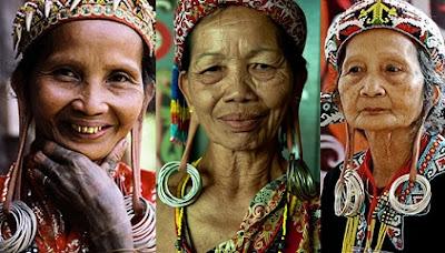 suku dayak, indonesia