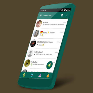 Download BBM Mod MOSTER HeLix Backup Free Sticker V2.9.0.51 Apk Android