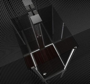 Технологичная душевая кабина Le Terme от Fei Chung Billy Ho