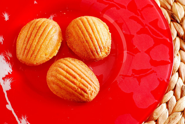Call Me Fudge: Vanilla Bean Madeleines