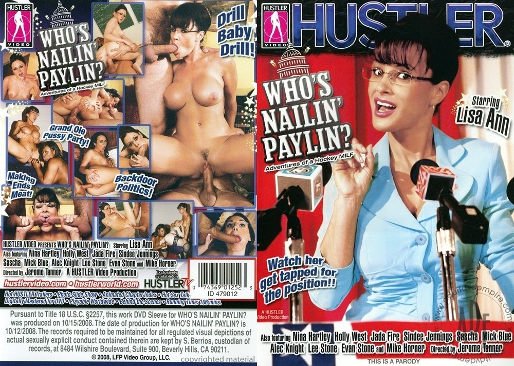 Whos Nailin Paylin? 2008 Adult DVD Empire