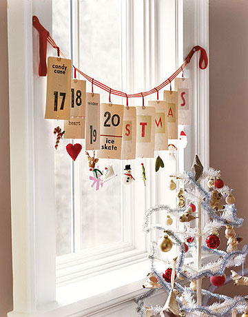 Craft Ideas  on This Is My Favourite  A Beautiful Advent Calendar Made Of Felt And