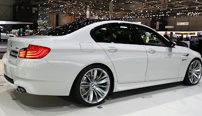 BMW M5 f10 side view
