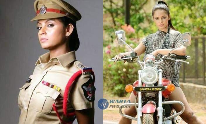 Foto hot seksi Neetu Chandra Artis cantik india bollywood berperan polisi