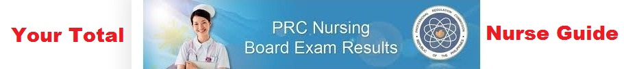 Nursing Board Exam Result NLE Passers 2013