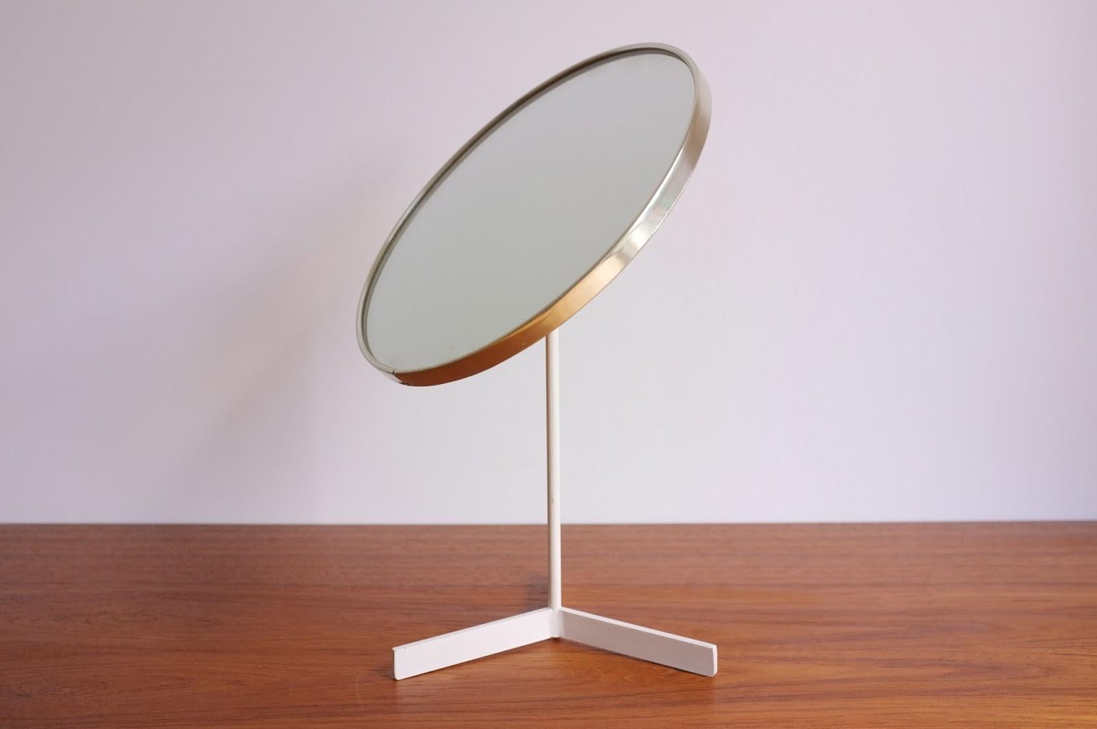 antikmodern: the shop: mid-century modern table mirror