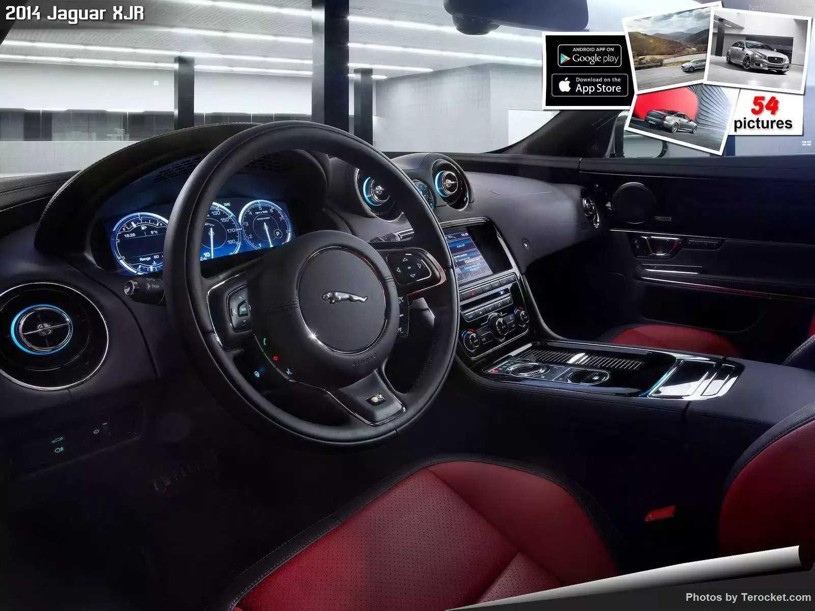 Hình ảnh xe ô tô Jaguar XJR 2014 & nội ngoại thất
