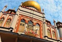 mesjid sultan singapore, singapura, kampong arab, kampong glam, kawasan etnis arab, singapura, tempat wisata di singapore