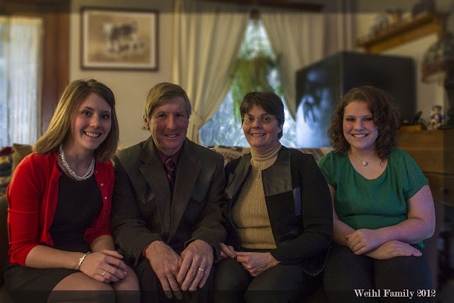 Weihl Family in 2012
