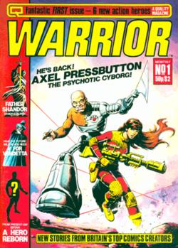 Warrior Comics #1 image